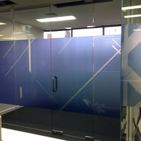 Window Graphics - Office Partition 3