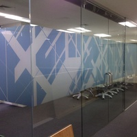 Window Graphics - Office Partition 4