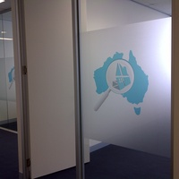 Window Graphics - Office Partition 2