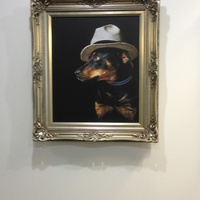 canvas artwork dogs 1
