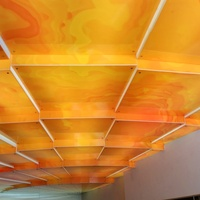 Light 7 - Origani custum illuminated ceiling 2