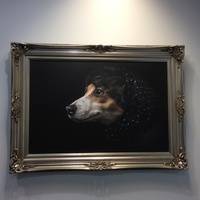 canvas artwork dogs 2