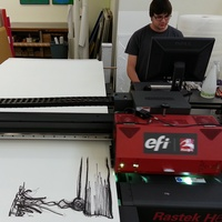 UV Flatbed printing for Les Miserable 4
